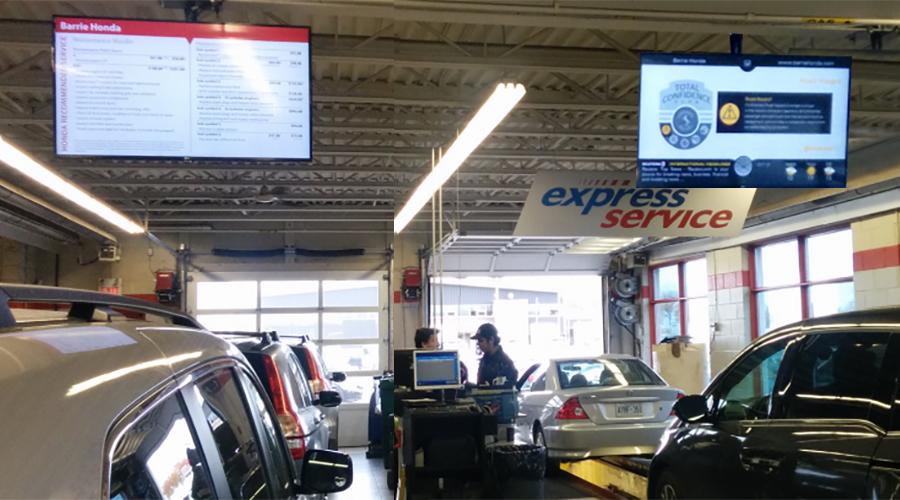 Honda Service Bay Installation