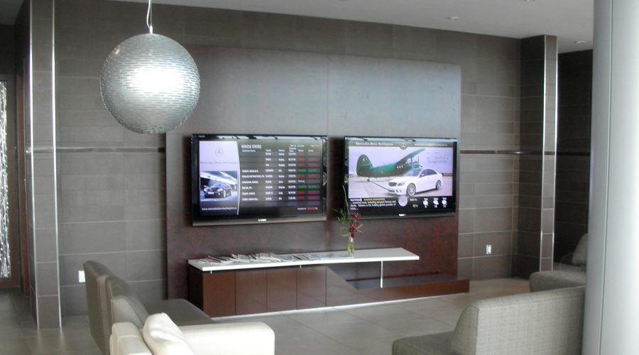 Mercedes-Benz Lounge Installation