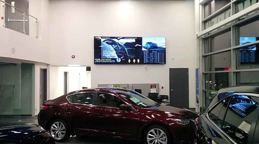 Acura Video Wall Digital Signage