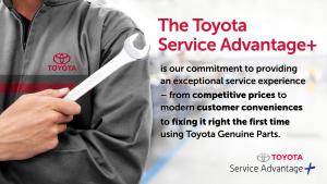 Toyota - service advantage