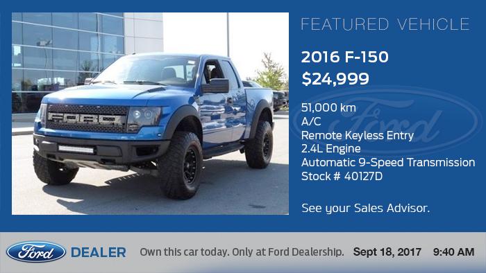 Ford Digital Signage - Vehicles