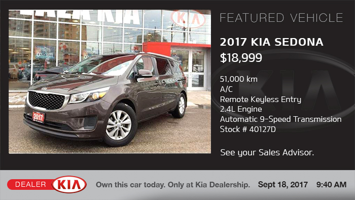 Kia Digital Signage - Vehicles