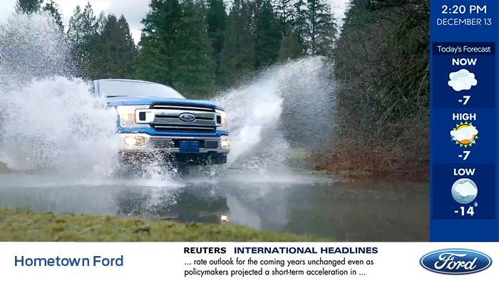 Ford Digital Signage