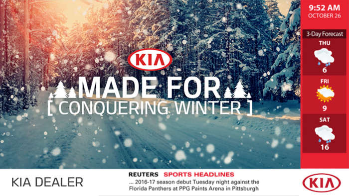 Kia Digital Signage