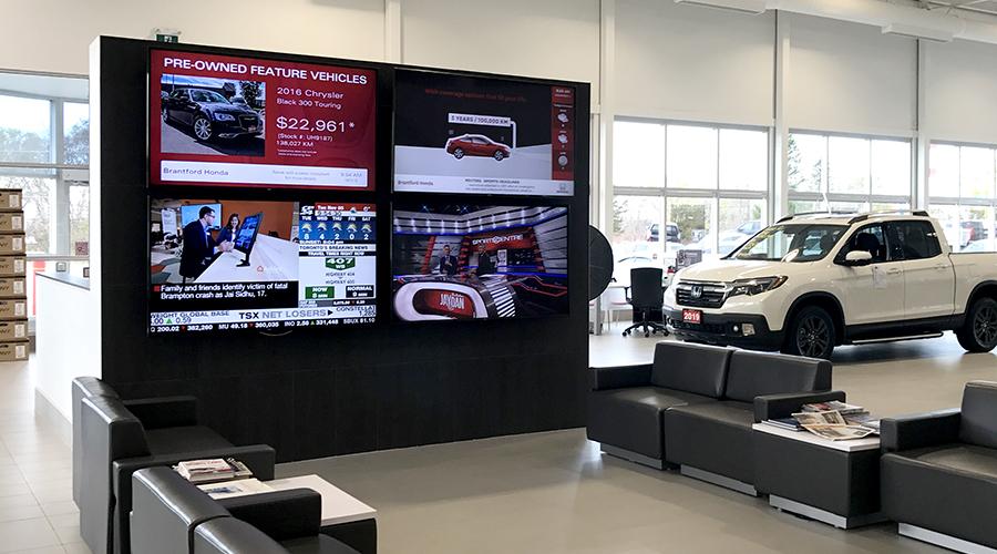 Brantford Honda VenueVision eDisplay