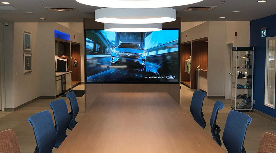 Ford Signature Video Wall