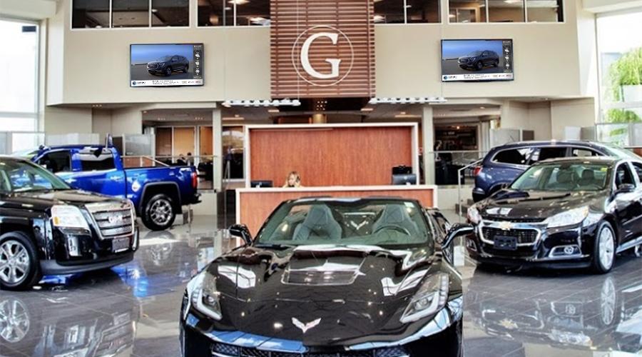GM Dealer Showroom Digital Signage