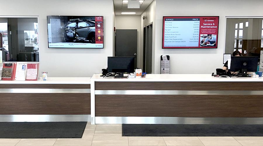 Toyota Service Installation