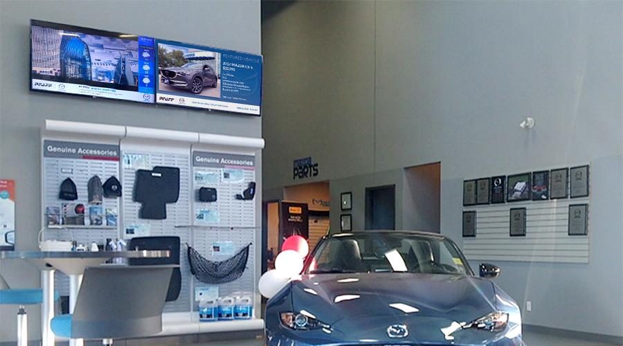 Mazda Digital Signage