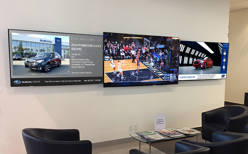 Your dealership needs Digital Signage. But not just any Digital Signage