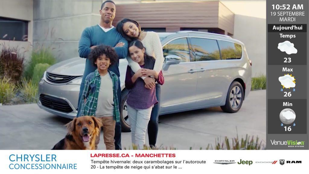 Chrysler National Content - FR
