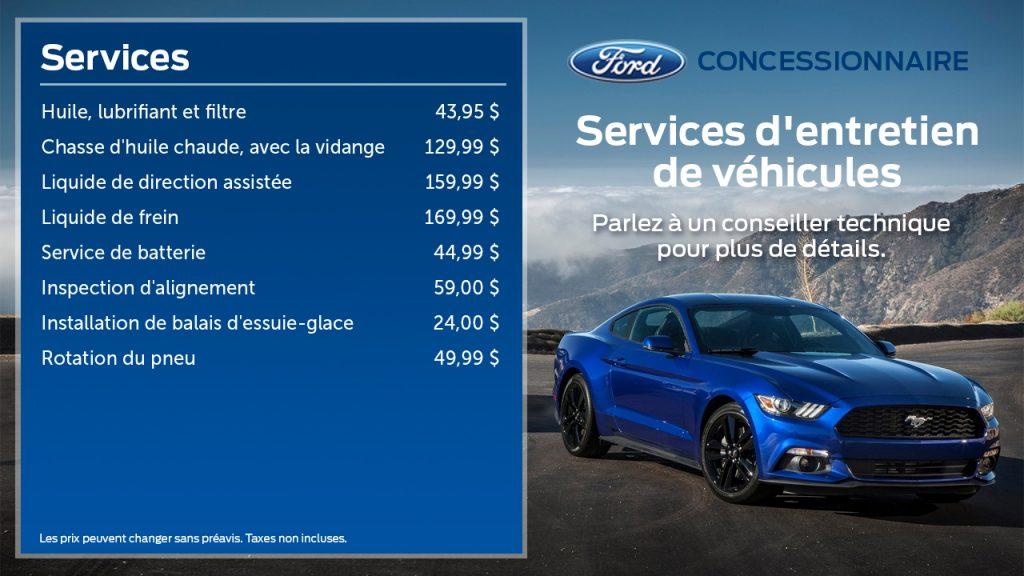 Ford Menuboard - FR