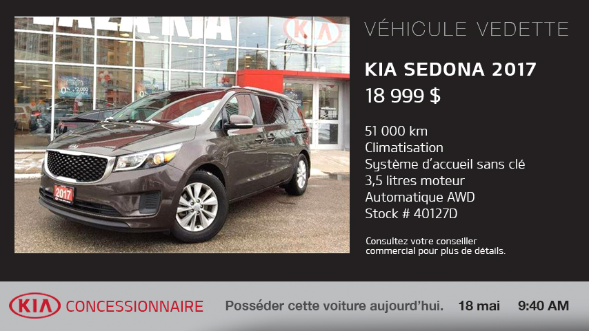 Kia Featured Vehicle - FR