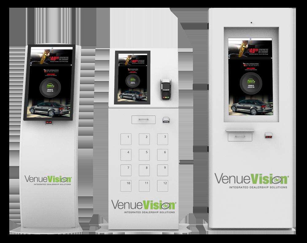 VenueVision Kiosks